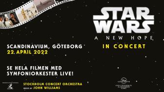 Star Wars live in concert på Scandinavium