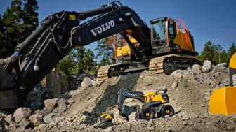 Volvo CE har sålt en miljon maskiner på ett år – snabbast hittills för en ny serie