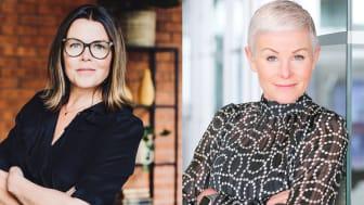 """Anna Rosengren, ALMI och Angelica Ekoholm, Dalarna Science park deltar i del 3 av föreläsningsserien """"Vem äger Siljansbygden?"""""""