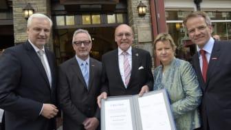 Reinhold Schulte erhält Floriansmedaille: Beständiger Einsatz für Handwerk und Mittelstand