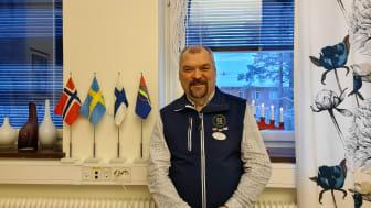Leif Lahti, direktör på Utbildning Nord är glad över det nya utbildningsbeslutet från Finland