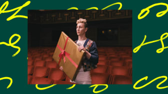 Danskompaniet Claie Parsons Co. medverkar med tolkningar av pristagarnas verk.