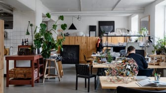 The studio of Matti Klenells, Photo: Ivan Brodey