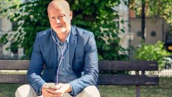 Niclas Sandin, CEO BookBeat AB    (Fotograf: Andreas Carlfors)