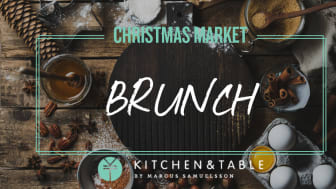 Kitchen & Table Kungsholmen bjuder in till brunch under Clarion Hotel Amarantens årliga julmarknad