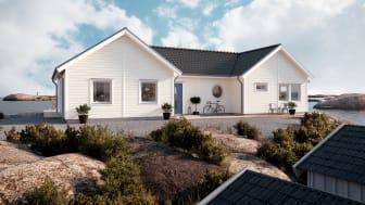 Välkommen hem – ny inspirerande utomhuskulörguide för trähus från Nordsjö