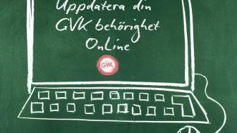 Fortbildningskurs för GVK-arbetsledare - nu online
