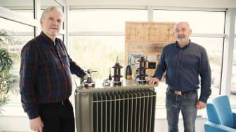 Teknisk sjef Knut Stadheim har sammen med fabrikksjef Steinulf Grøvik stått i spissen for arbeidet som både har involvert folk sine ideer og rutiner og fysiske endringer av fabrikken.