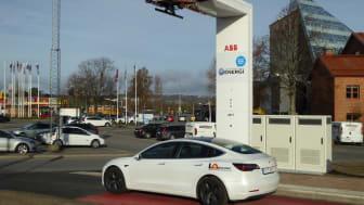 LaddAlliansen bygger infrastruktur för elbussar i Jönköping