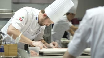 Alexander Sjögren på GastroNord i april.