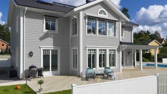 Hur gör man för att måla om ett hus?