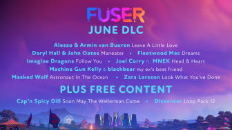 FUSER Heats Up the Summer Stage With New DLC This June