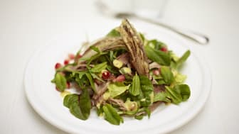 Starter from Autumn menu by Jamie Oliver