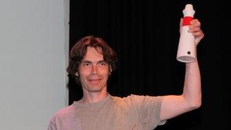 Tore Havellen, Miljø og bærekraftansvarlig ved Oslo universitetssykehus, fikk årets ECOonline Award