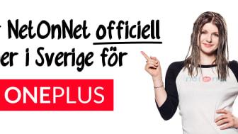 NetOnNet blir OnePlus tredje officiella partner i Sverige