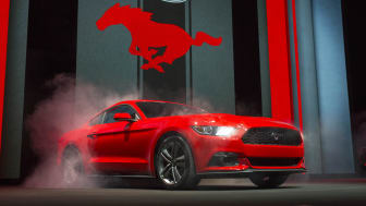 Nye Ford Mustang lanseres i Europa i 2015.