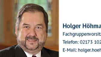 Holger Höhmann, Fachgruppenvorsitzender
