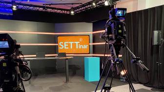 SETT lanserar digitala SETTinar