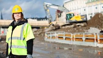 Ulrika Dolietis ansvarar för satsningen Samverkan för noll olyckor i byggbranschen.