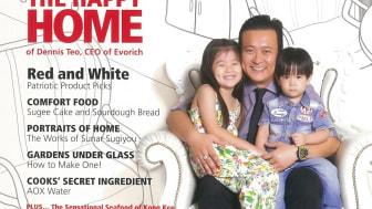 Evorich Flooring Featured on @ Home Magazine Issue 08