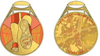 Göteborgsvarvetmedaljen 2020 – så ser den ut