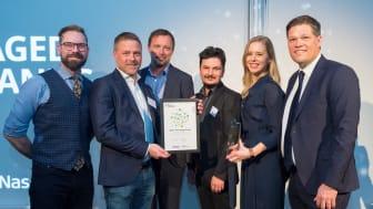 Daniel Thysell, Niklas Malmros, Niclas Lundin, Amer Hadsvik, Nataly Duyko, Johan Glennmo. Photo: Deloitte