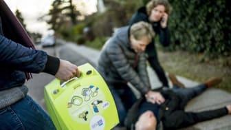 Nu kommer danske hjertestartere på nettet