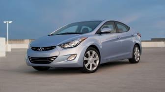Elantra fra Hyundai helt i toppen