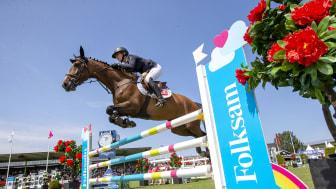Sveriges högsta hoppliga Folksam Elitallsvenska smygstartar i helgen när Nääs Hästsportförening står värd i Västra zonen. Arkivbild: Roland Thunholm