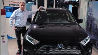 En bredde av bilmodeller sikret nok et solid år for Nordvik Toyota Narvik