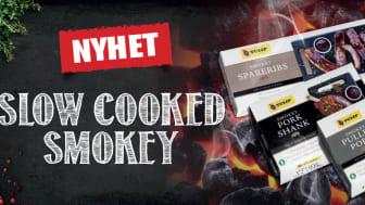 Marknadsledaren på slow cooked lanserar tre rökiga varianter för grillen!