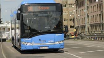 Många skadas när de åker buss i Stockholms län