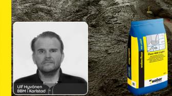 Ulf Hyvönen på BBM i Karlstad har weberfloor 450 light som sin Weber-favorit