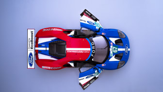 Ford GT from above