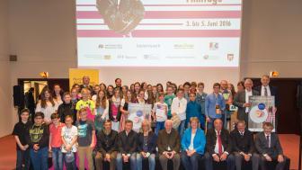 NaturVision Filmtage: Siegerehrung im Bayerischen Wald