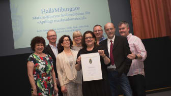 Hedersdiplom Matverk 2017 - Aptitligt marknadsmaterial till Hallåmiburgare