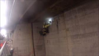 Klätterservice utför uppdrag inom vattenkraften