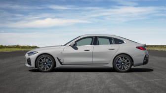 BMW 430i Gran Coupé i farven Brooklyn Grey