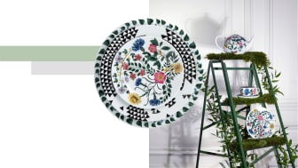 "The decors of the Rosenthal ""Magic Garden"" collection show the evolution from seed to blossom."