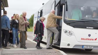 Betalkort och kontantstopp på bussarna