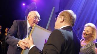 """Bilsport Awards 2011: Erik Carlsson """"på taket"""" hedrades särskilt"""