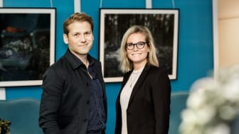 Carl Brynielsson, ny VD för Lendo Sverige & Hanna Neidenmark EVP Nordics, Lendo Group. Fotograf: Linda Broström.