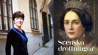 Ny fängslande bok om livet som svensk drottning