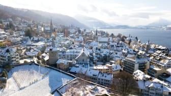 Winter in Zug (c) Daniel Hegglin