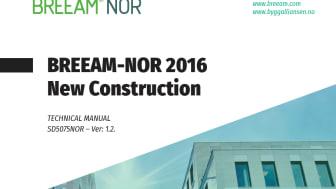 BREEAM-NOR 2016 versjon 1.2 på engelsk kan nå lastes ned på Grønn Byggallianses nettside.