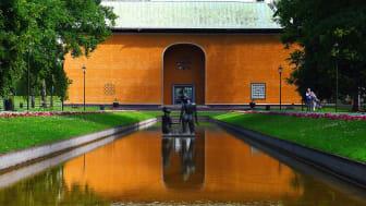 Museiparken med utsikt mot Värmlands museum