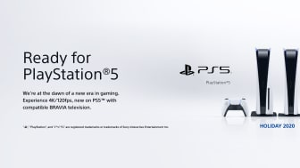 Sony announces 'Ready for PlayStation®5' TVs