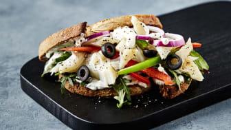 Kan det smake med en Klippwich? Klippfisk sandwich skal friste yngre forbrukere til å spise sjømat 3 ganger i uka.