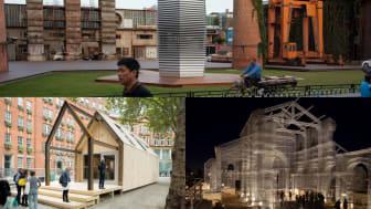 Vad bygger vi med framtidens stål? Film 3: Smogdammsugare som renar luften i Peking, en 100 % cirkulär byggnad i London och en stålnätskatedral i Italien.
