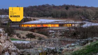 Hammershus Besökscenter vinner internationellt arkitekturpris